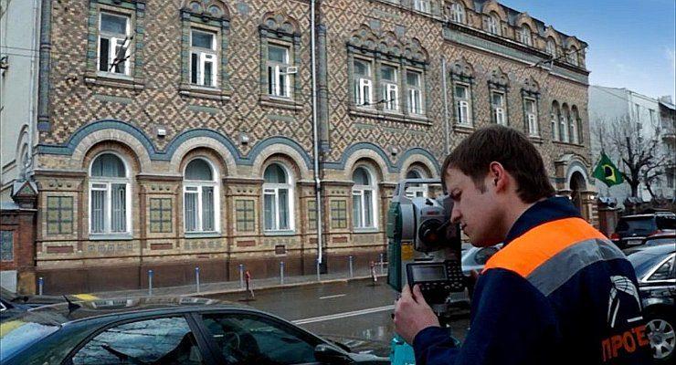 Фасадная съемка. Юридический центр недвижимости. Воронеж